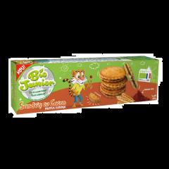 Biscuiti Bio cu crema de cacao Bio Junior 185g