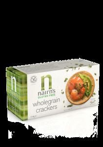 Biscuiti crackers fara gluten din ovaz integral Nairn's 114g