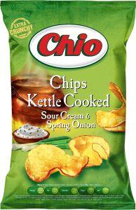 Chipsuri cu gust de smantana Chio 80g