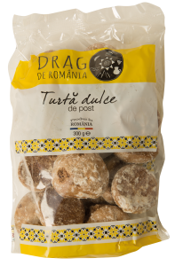 Turta dulce de post Drag de Romania 300g