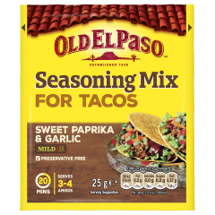 Mix condimente pentru taco Old El Paso 25g