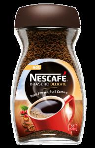 Cafea instant Nescafé Brasero Delicate 100g