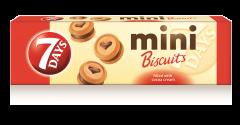 Mini biscuiti cu crema de cacao 7Days 100g