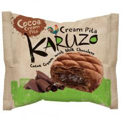 Placinta din aluat cu cacao cu umplutura cu ciocolata Karuzo 62g