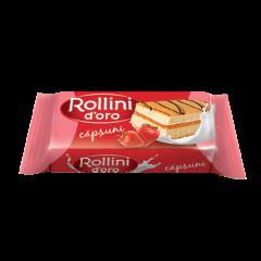 Prajitura cu capsuni Rollini d'Oro 28g