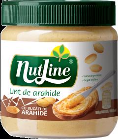 Unt de arahide crocant Nutline 350g