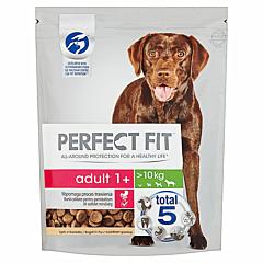 Hrana uscata cu pui pentru caini adulti de talie medie si mare Perfect Fit 1.4kg