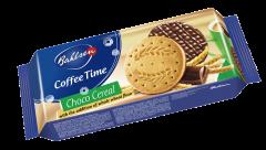 Biscuiti din faina integrala partial acoperiti cu ciocolata cu lapte Bahlsen 143g