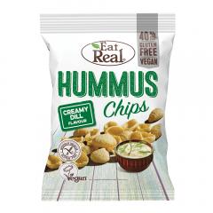 Chipsuri de humus cu crema de marar Eat Real 45g