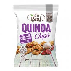 Chipsuri de quinoa cu rosii si usturoi Eat Real 30g