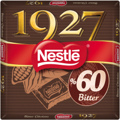 Ciocolata amaruie cu 60% cacao Nestle 1927 65g