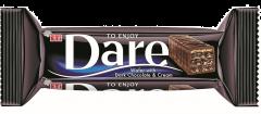 Napolitana cu crema cacao si ciocolata amaruie Dare 50g