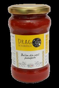Bulion din rosii Drag de Romania 314g