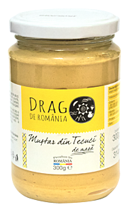 Mustar din Tecuci Drag de Romania 300g