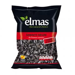 Seminte floarea soarelui negre coapte cu sare Elmas 200g