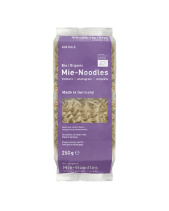 Paste integrale Mie-Noodles Bio Alb-Gold 250g