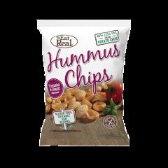 Chipsuri cu humus si aroma de rosii Eat Real 45g