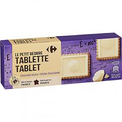 Biscuiti cu ciocolata alba Carrefour 150g