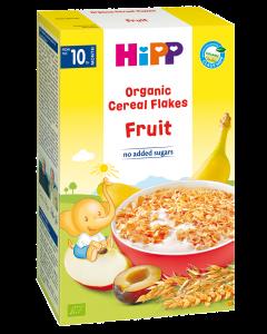 Fulgi de cereale Ecologice cu fructe Hipp 200g