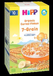 Fulgi de cereale ecologice - 7 cereale HIPP 200g