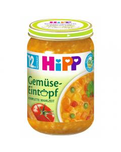 Tocanita de legume Bio +12luni Hipp 250g
