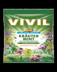 Drops cu plante si menta Vivil 60g