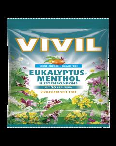Drops cu aroma de eucalipt si mentol Vivil 60g