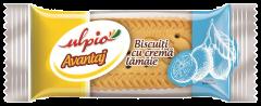 Biscuiti cu crema de lamaie Ulpio 26g