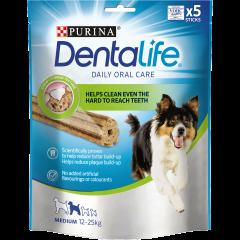 Nuggets pentru caini de talie medie Dentalife 5x115g