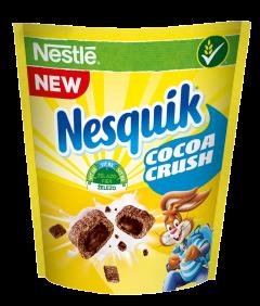 Cereale pentru mic dejun Nesquik Cocoa Crush Nestlé 350g