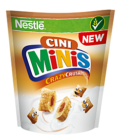 Cereale pentru mic dejun Nestlé Cini Minis Crazycrush 350g