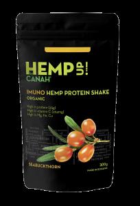 Shake proteic organic de canepa si catina HempUp 300g