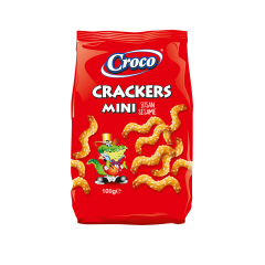 Crackers mini cu susan Croco 100g