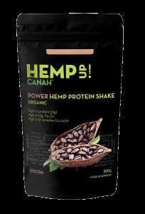 Shake proteic organic de canepa si cacao HempUp 300g