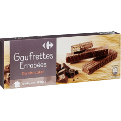 Napolitane cu cacao Carrefour 150g