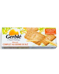 Biscuiti integrali cu germeni de grau Gerble 210g