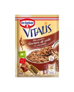 Mix pentru gustare de ovaz cu ciocolata Vitalis 60g