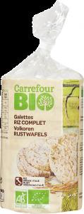 Galette expandate Bio Carrefour 100g