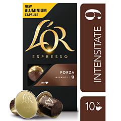 Capsule cafea L'OR Espresso Forza 10x5.2g