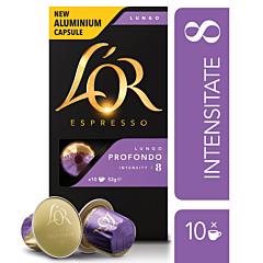 Capsule cafea Lungo Profondo L'Or 10x5,2g