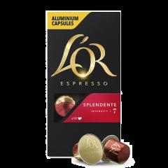 Capsule cafea L'OR Splendente 10x5,2g