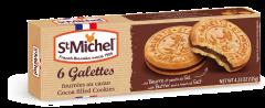 Biscuiti cu crema de cacao Gallettes St. Michel 125g