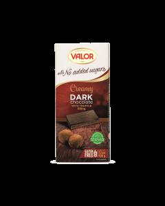 Ciocolata neagra fara zahar cu trufe Valor 100g