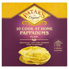 Paine traditionala indiana Patak's 100g