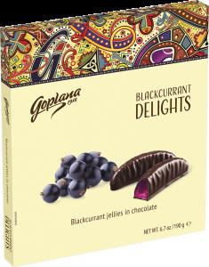 Jeleuri coacaze in ciocolata Goplana 190g