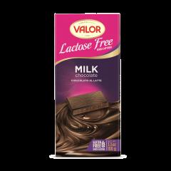 Ciocolata cu lapte fara lactoza Valor 100g