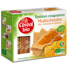 Tartine bio crocante multicereale Cereal Bio 145g