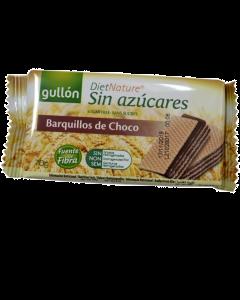 Napolitane fara zahar cu crema de ciocolata Gullon 70g