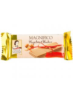 Napolitana umpluta cu crema cu alune de padure Magnifico Vicenzi 25g