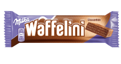 Napolitane cu crema cacao si glazura de ciocolata Wafffelini 31g